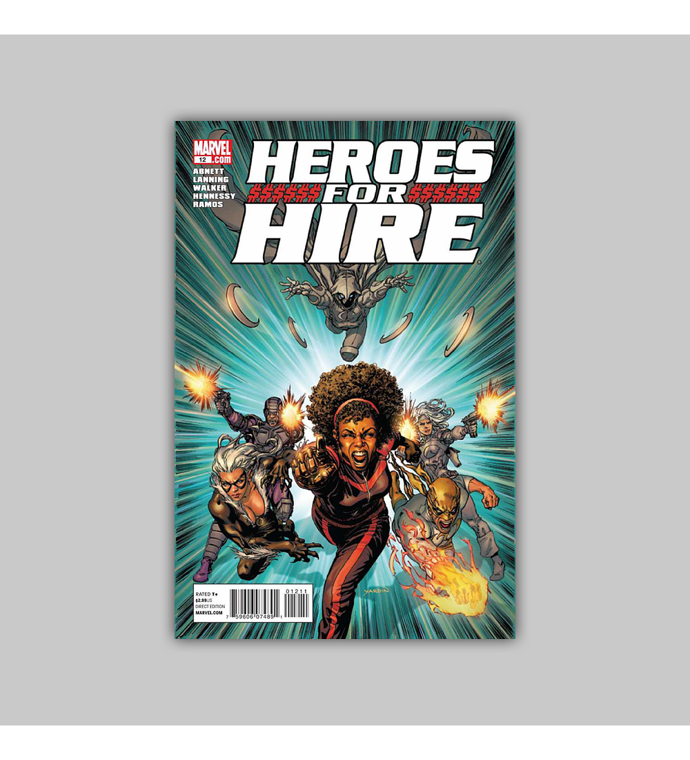 Heroes for Hire (Vol. 3) 12 2011