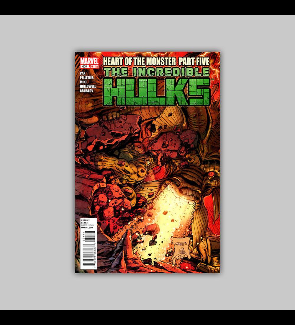 Incredible Hulk 634 2011