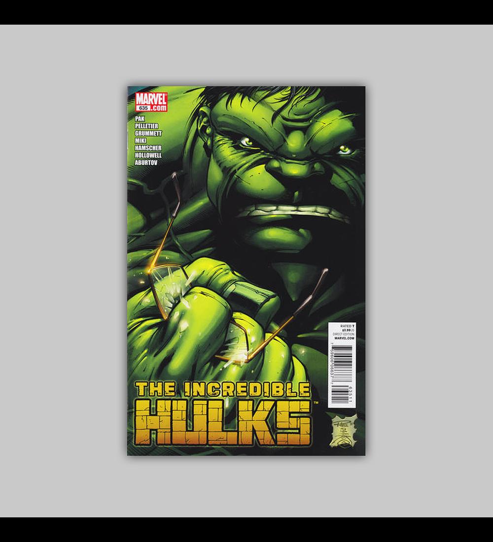 Incredible Hulk 635 2011