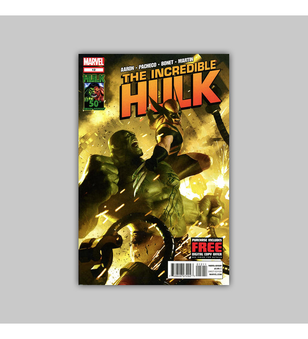 Incredible Hulk (Vol. 3) 12 2012