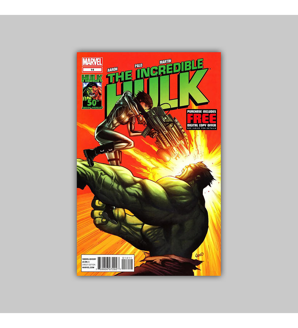 Incredible Hulk (Vol. 3) 14 2012