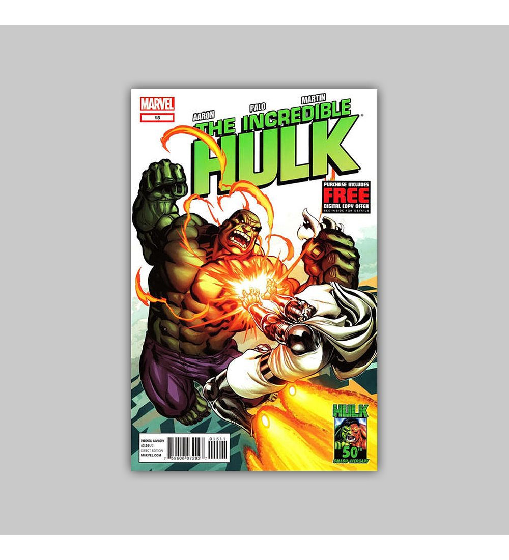 Incredible Hulk (Vol. 3) 15 2012