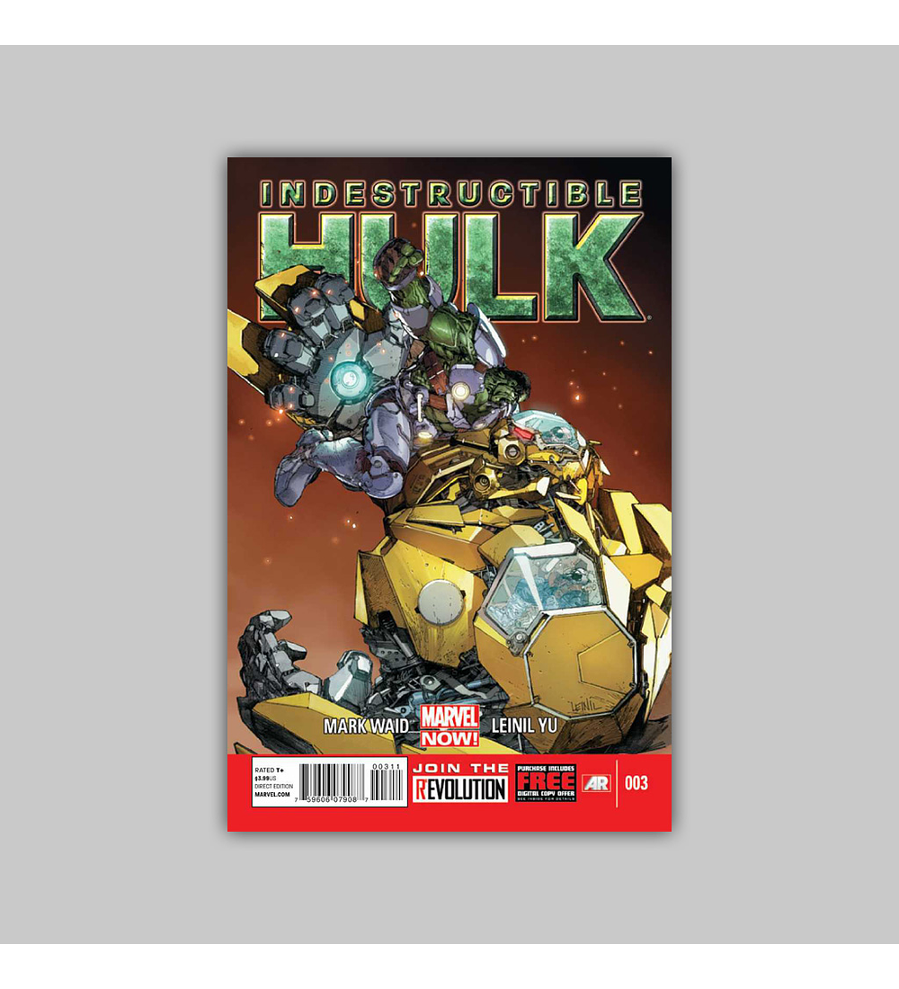 Indestructible Hulk 3 2013