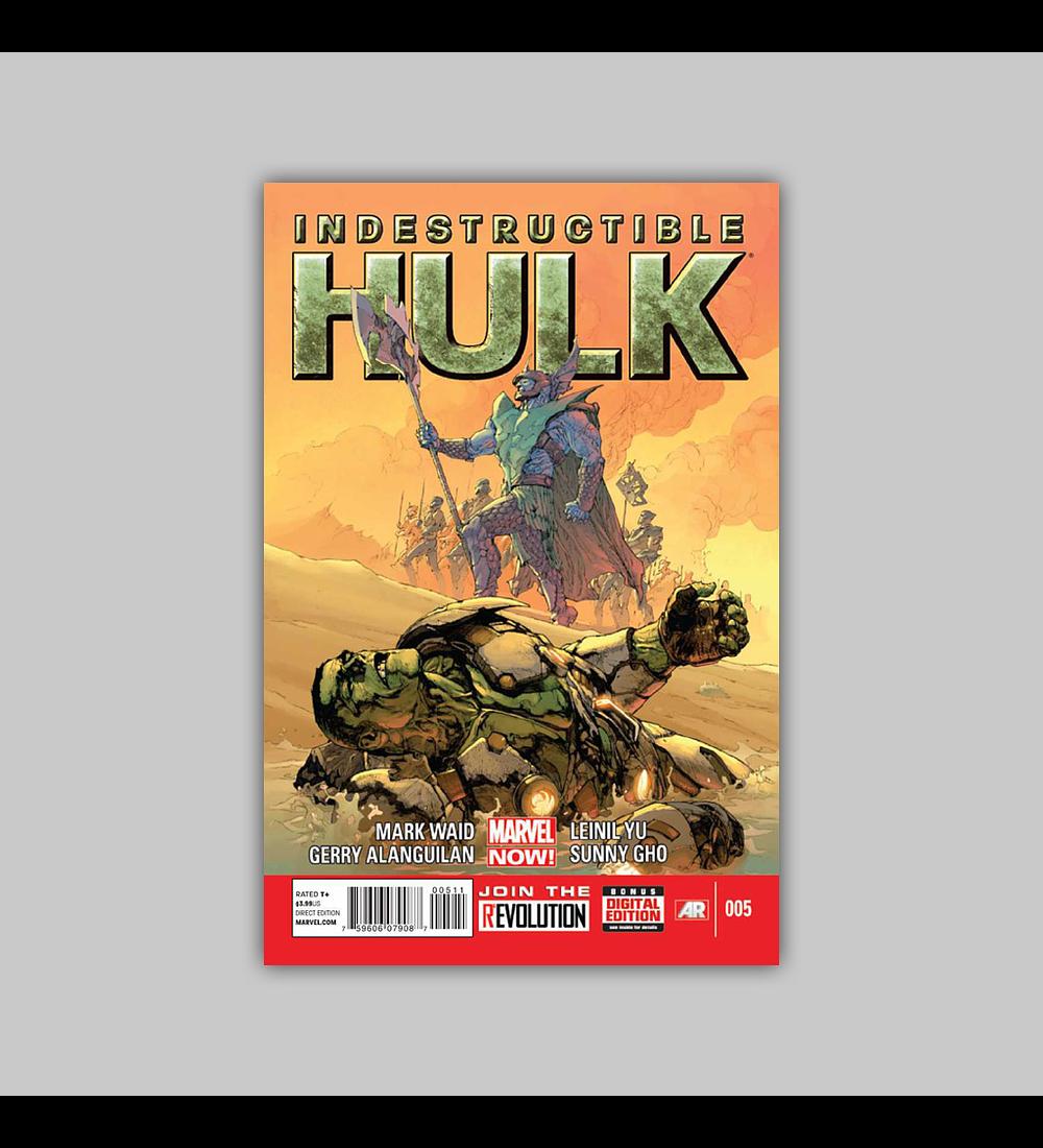 Indestructible Hulk 5 2013