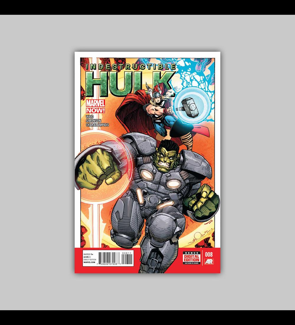 Indestructible Hulk 8 2013
