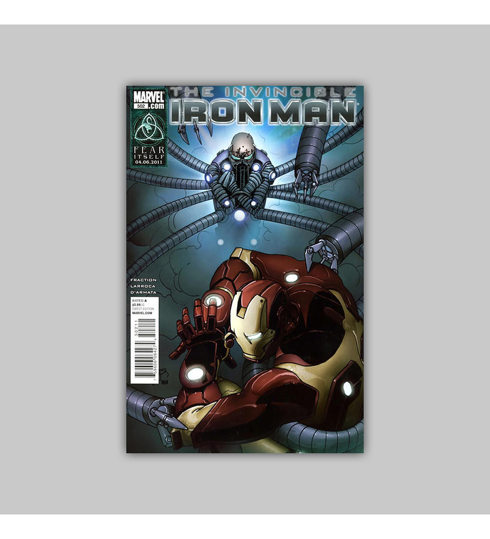 Invincible Iron Man 502 2011