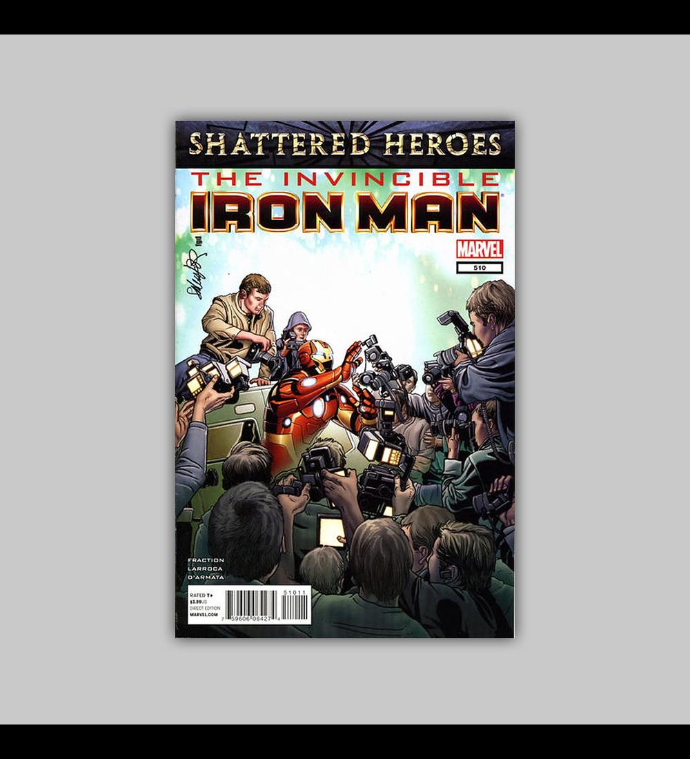 Invincible Iron Man 510 2012