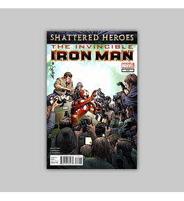 Invincible Iron Man 510 2012