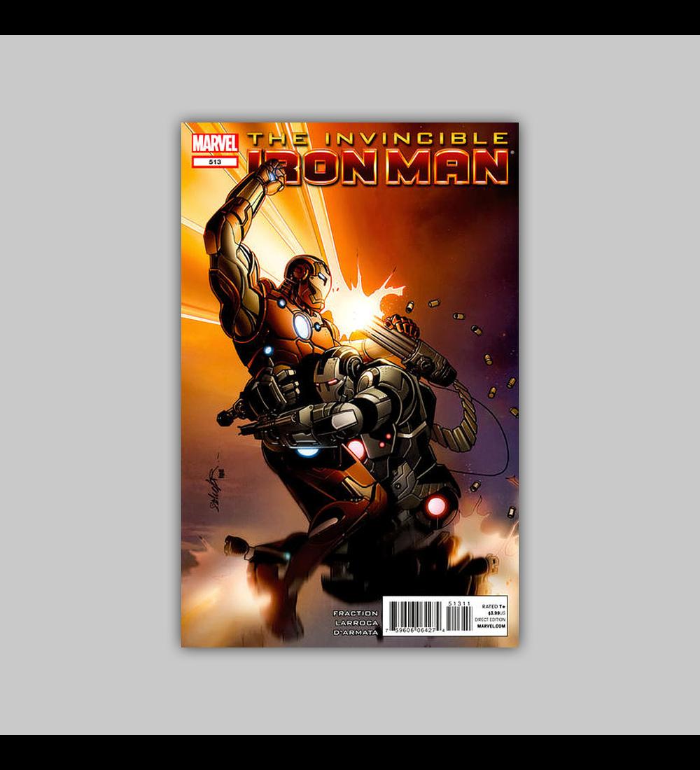 Invincible Iron Man 513 2012