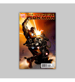 Invincible Iron Man 513 2012