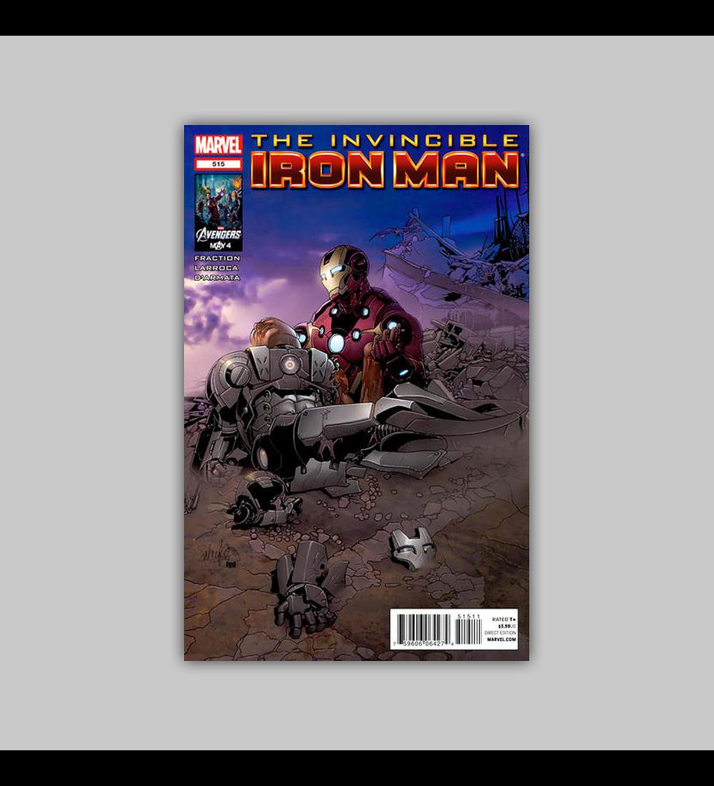 Invincible Iron Man 515 2012