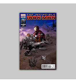 Invincible Iron Man 515 2012