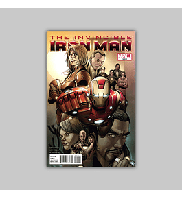 Invincible Iron Man 500.1 2011