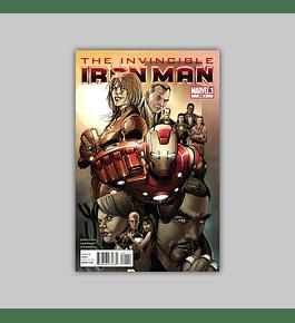 Invincible Iron Man 500.1 2011