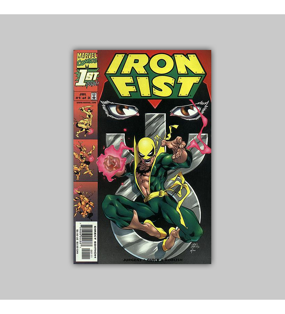 Iron Fist (complete limited series) 1998