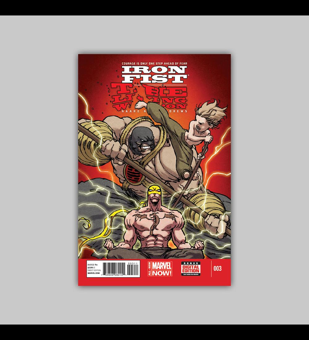 Iron Fist: Living Weapon 3 2014