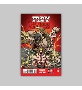 Iron Fist: Living Weapon 3 2014