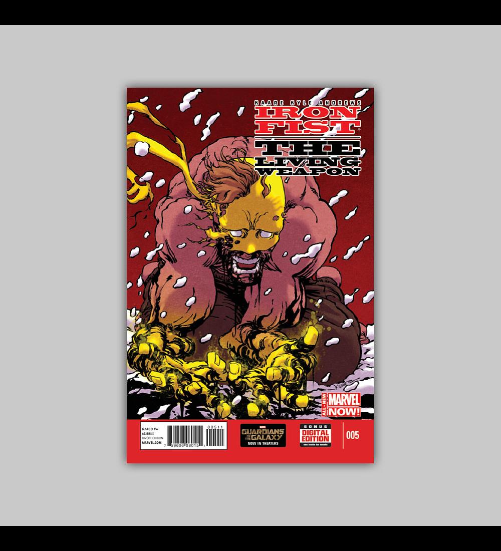 Iron Fist: Living Weapon 5 2014