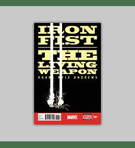 Iron Fist: Living Weapon 6 2014