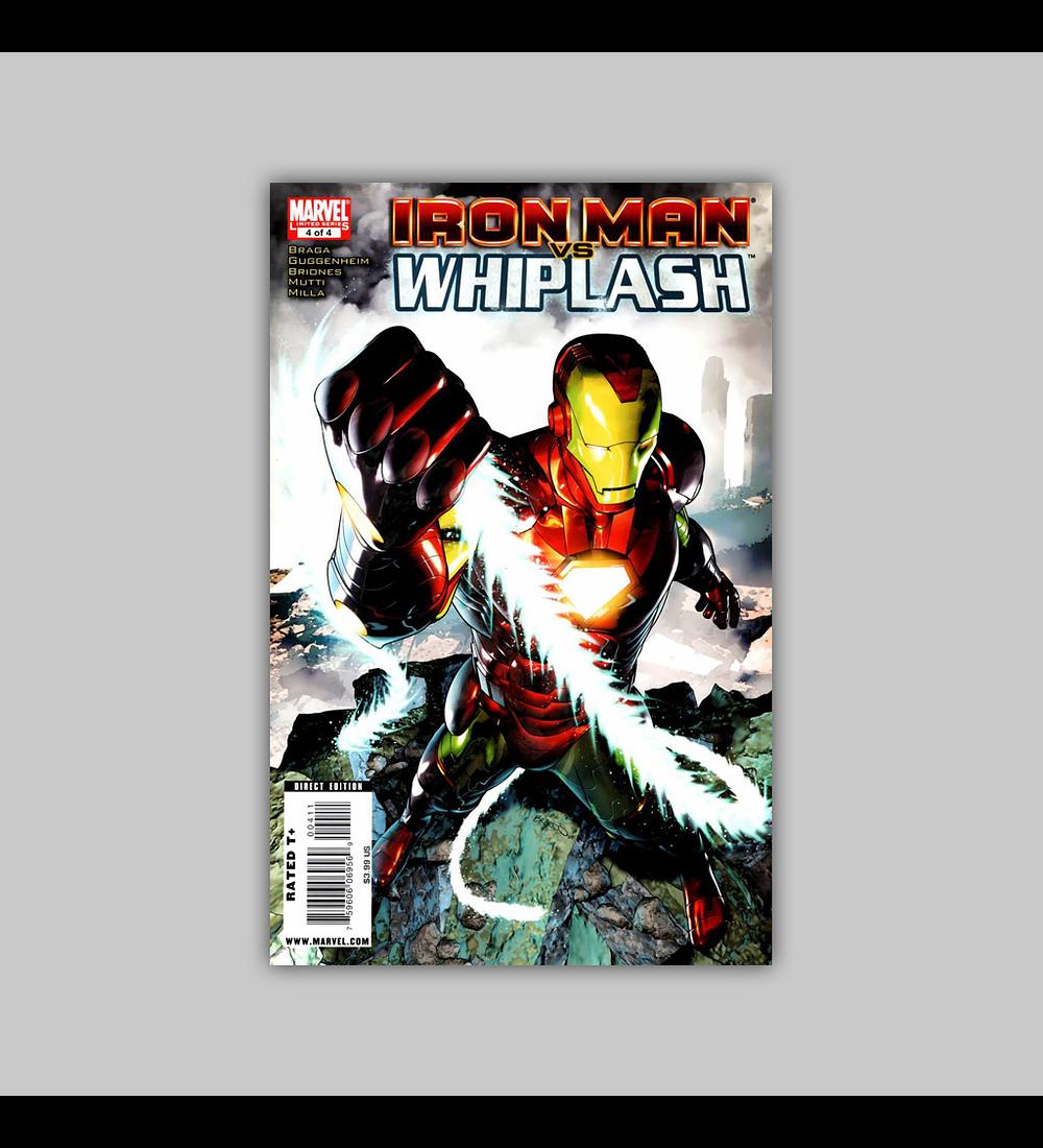 Iron Man Vs. Whiplash 4 2010