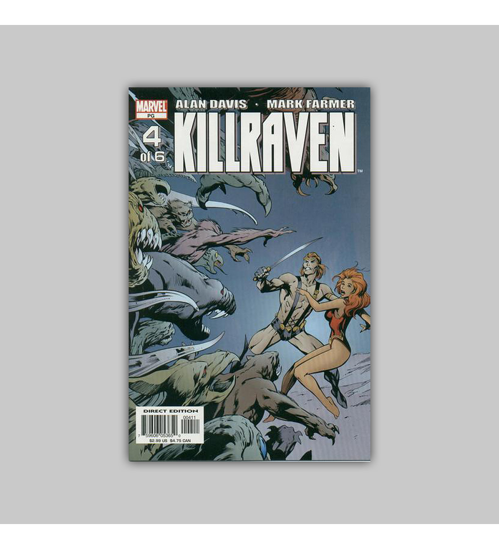 Killraven (complete limited series) 2003