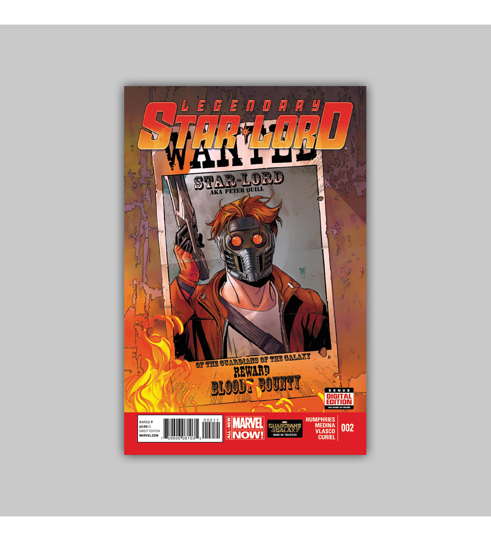 Legendary Star-Lord 2 2014