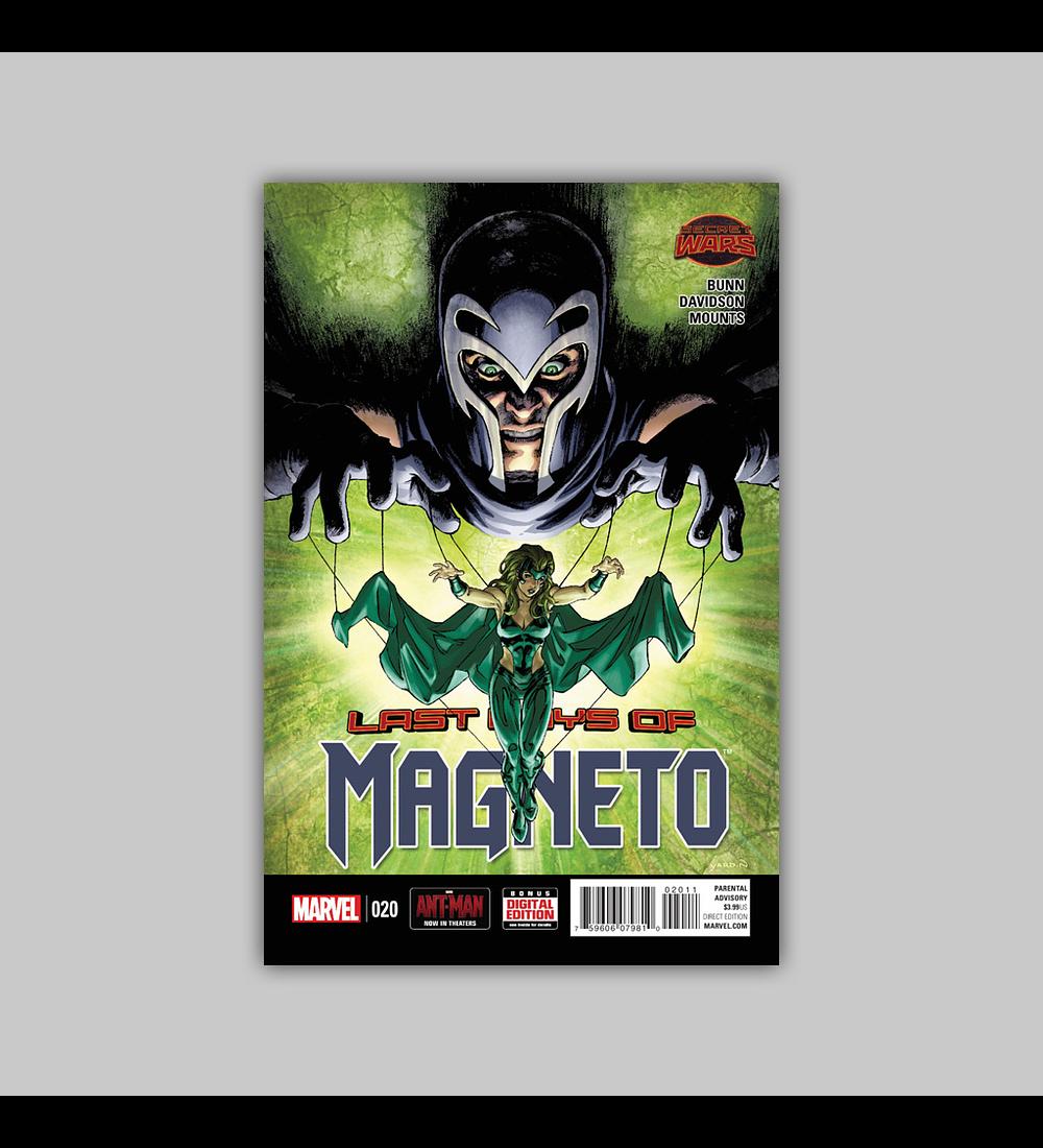 Magneto 20 2015