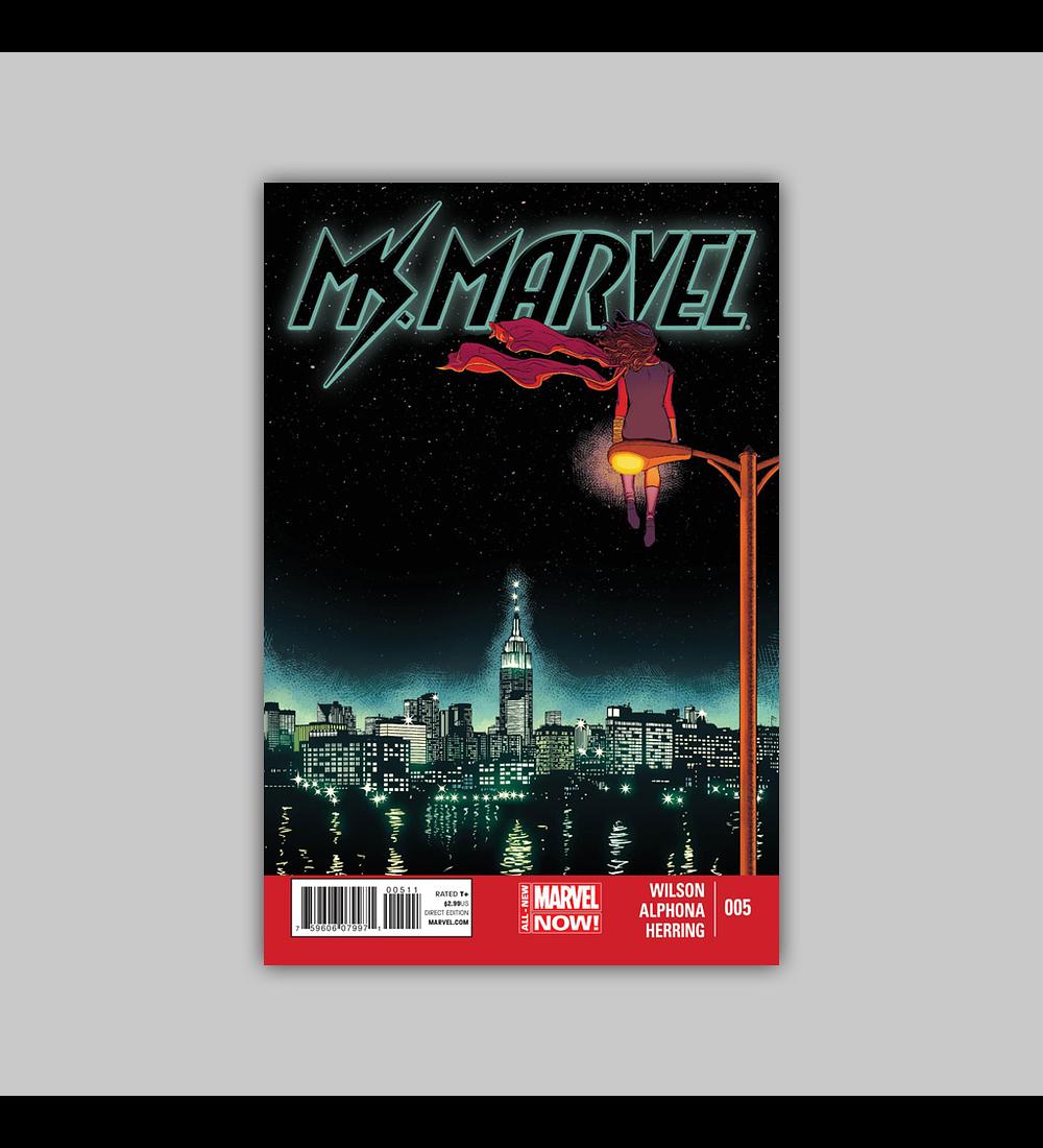 Ms. Marvel (Vol. 2) 5 2014