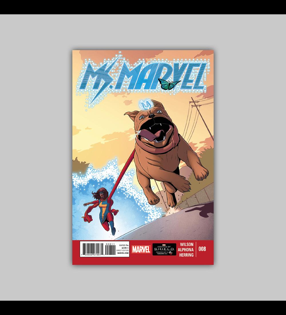Ms. Marvel (Vol. 2) 8 2014