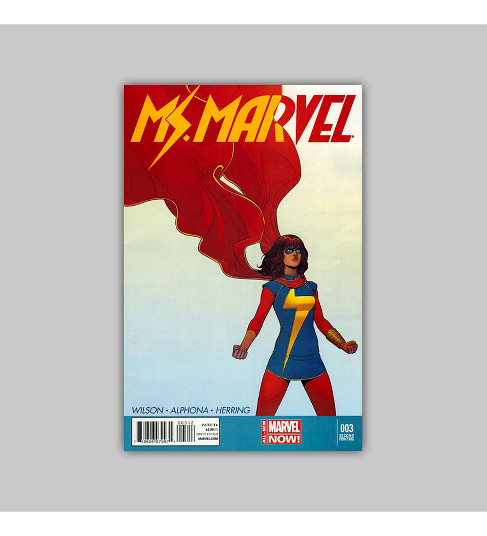 Ms. Marvel (Vol. 2) 3 2nd printing 2014
