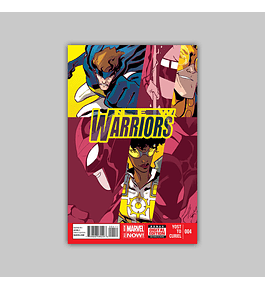 New Warriors (Vol. 4) 4 2014