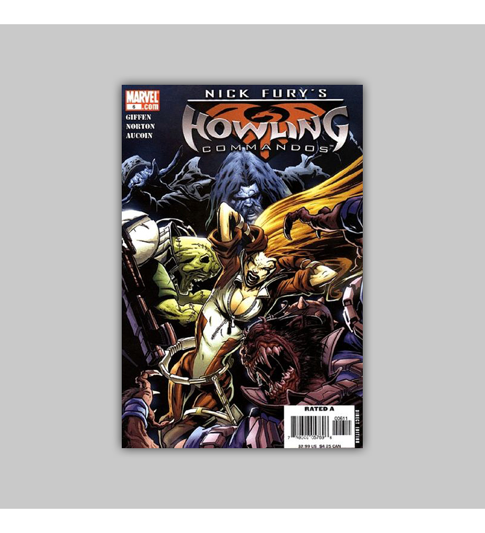 Nick Fury's Howling Commandos (complete limited series) 2005