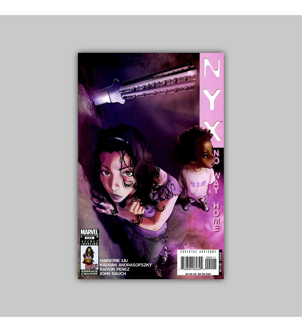 Nyx: No Way Home (complete limited series) 2008