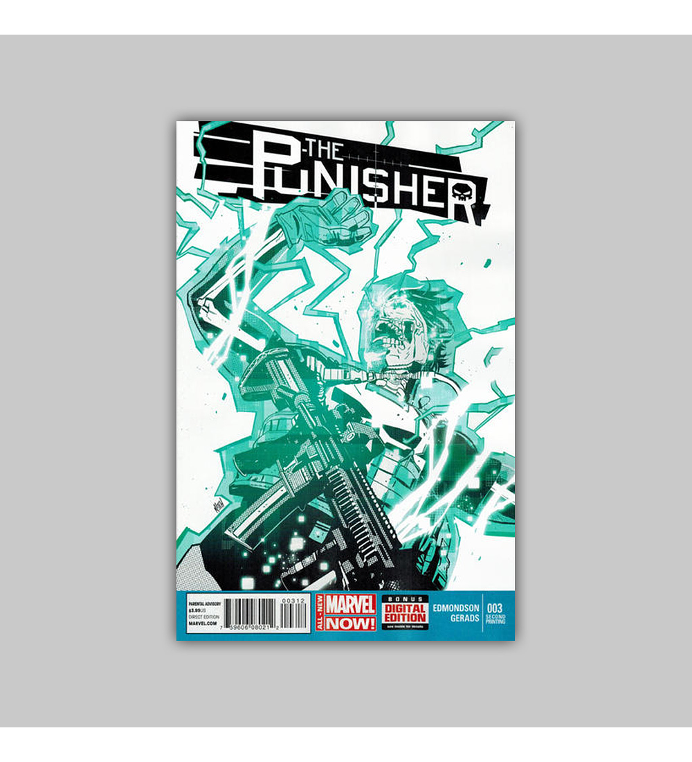 Punisher (Vol. 6) 3 2nd printing 2014