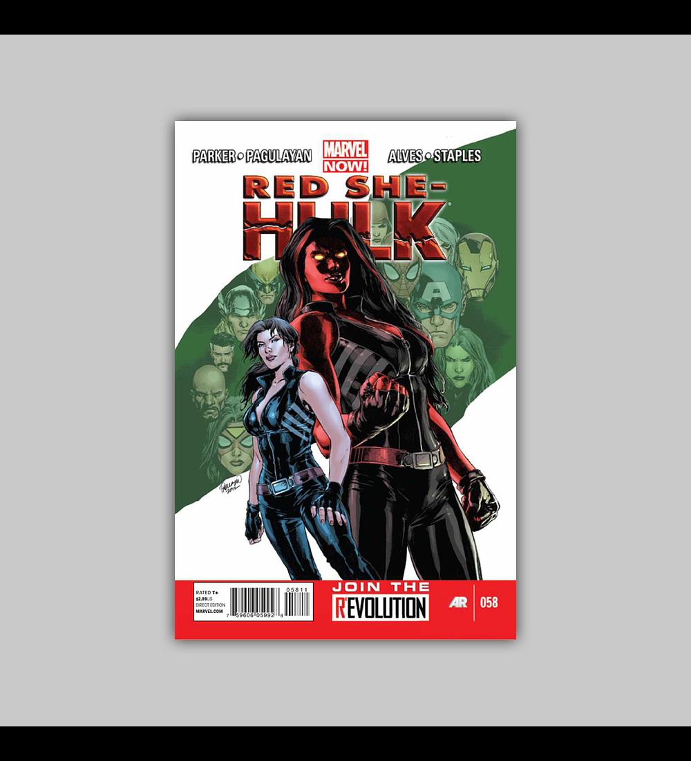 Red She-Hulk 58 2012
