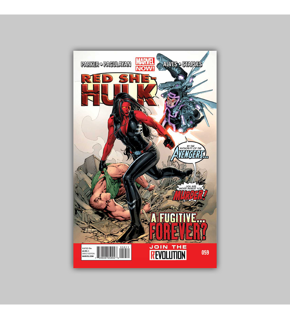 Red She-Hulk 59 2013
