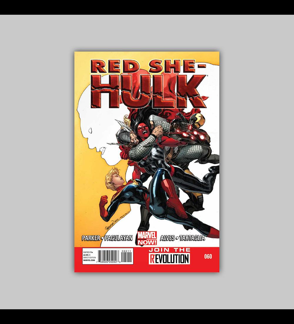Red She-Hulk 60 2013