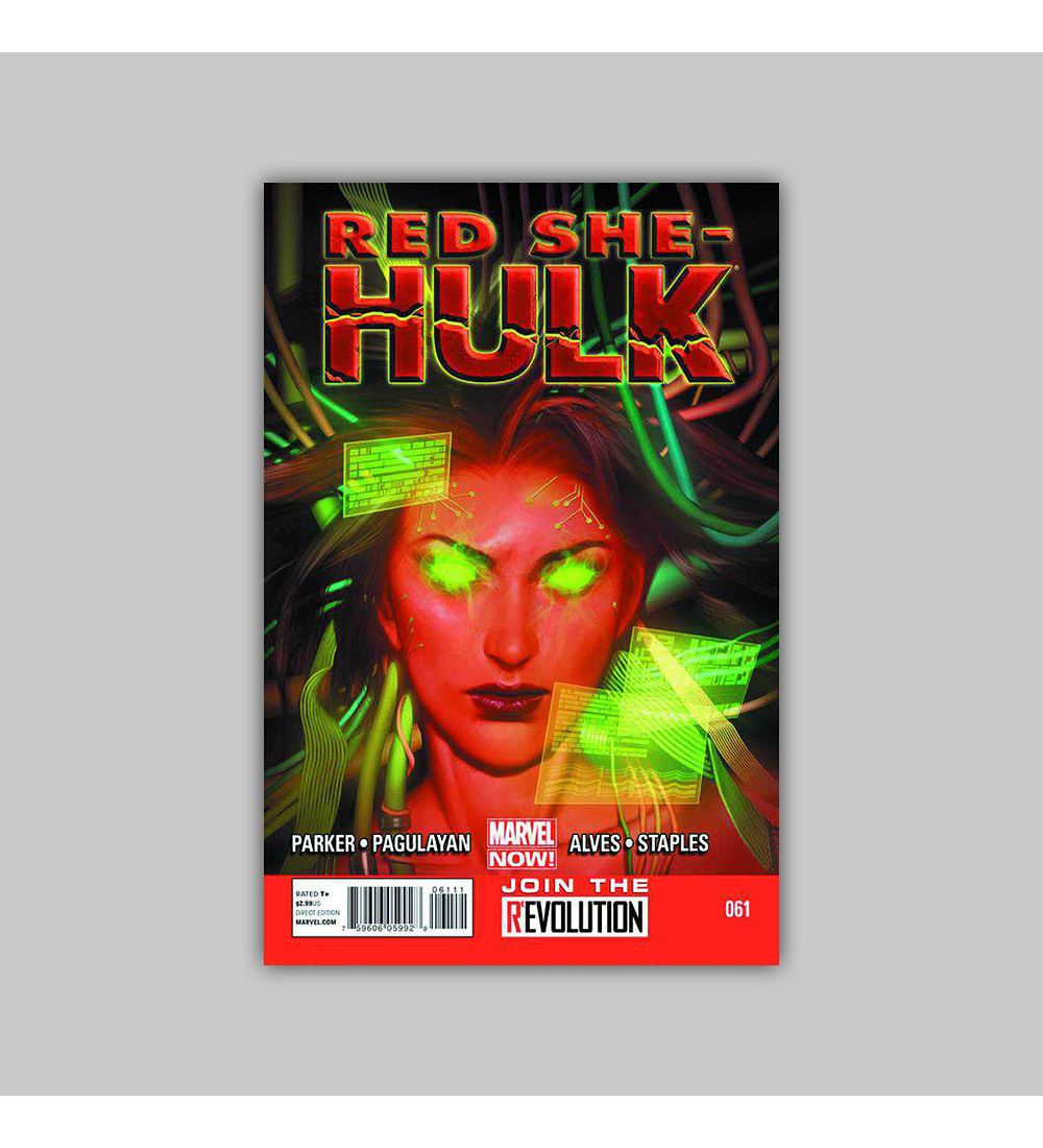 Red She-Hulk 61 2013
