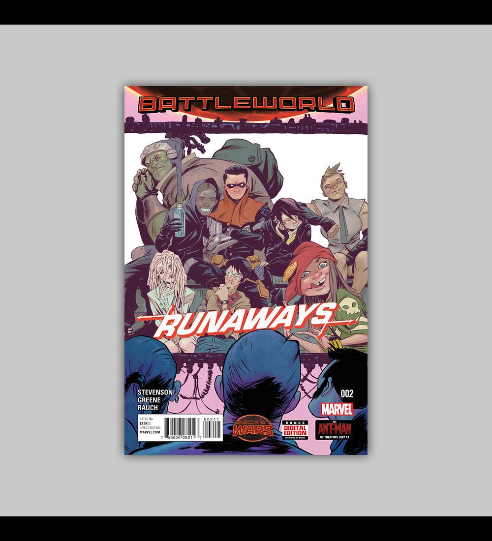 Runaways (Secret Wars) 2 2015