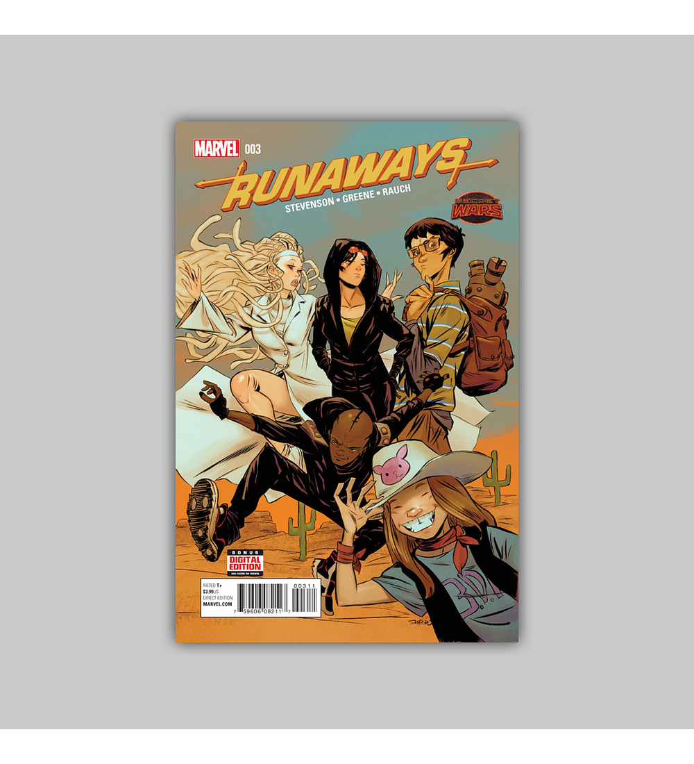 Runaways (Secret Wars) 3 2015