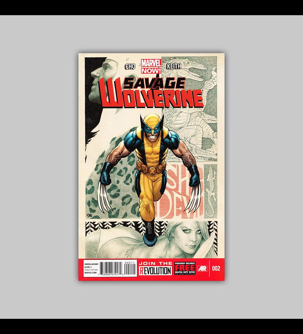 Savage Wolverine 2 2013