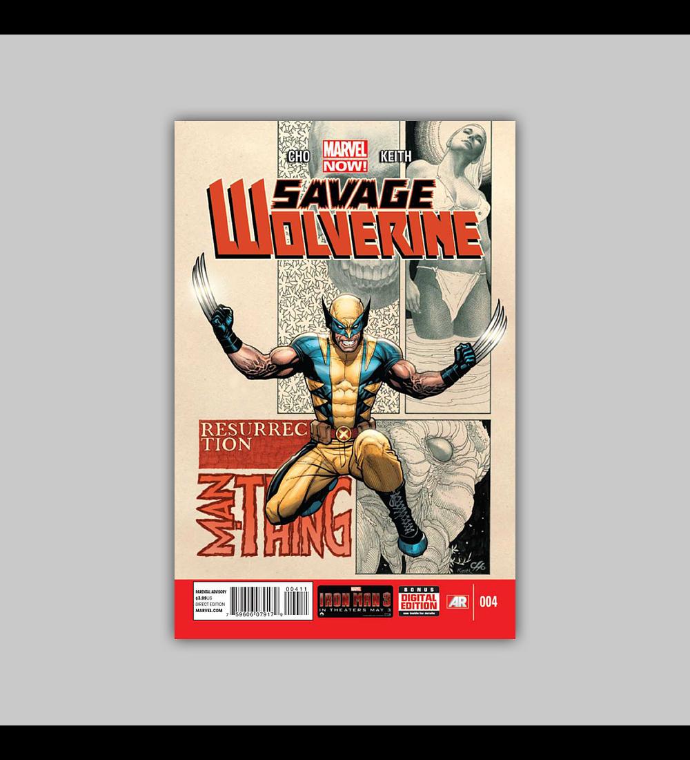 Savage Wolverine 4 2013