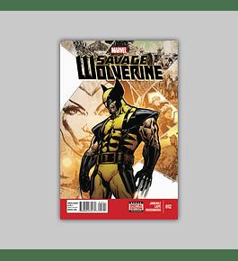 Savage Wolverine 12 2014