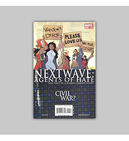 Nextwave: Agents of HATE 11 2007