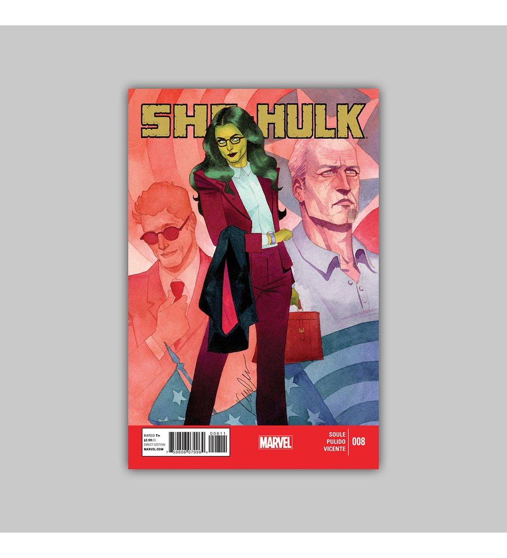 She-Hulk (Vol. 3) 8 2014