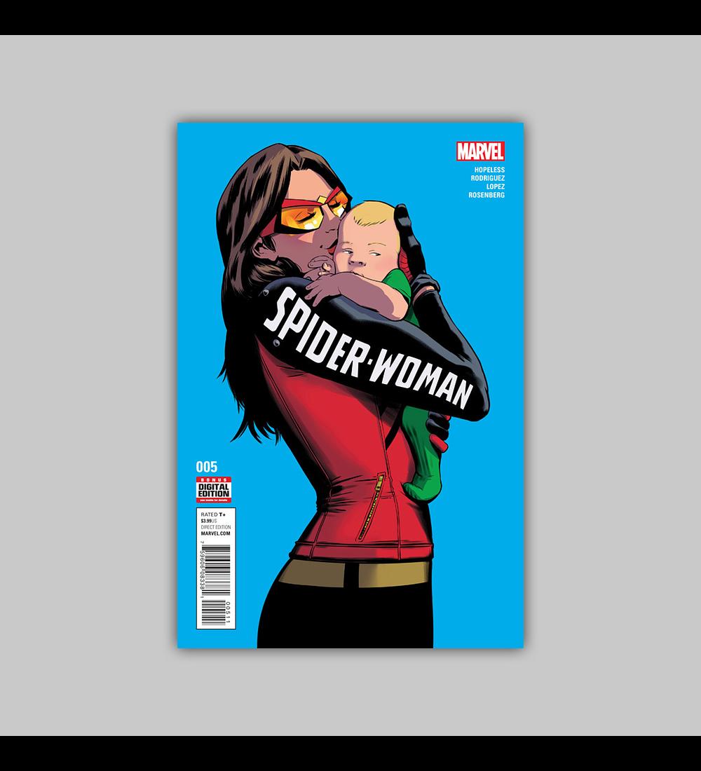 Spider-Woman (Vol. 4) 5 2016