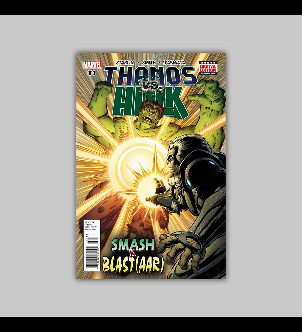 Thanos Vs. Hulk 3 2015