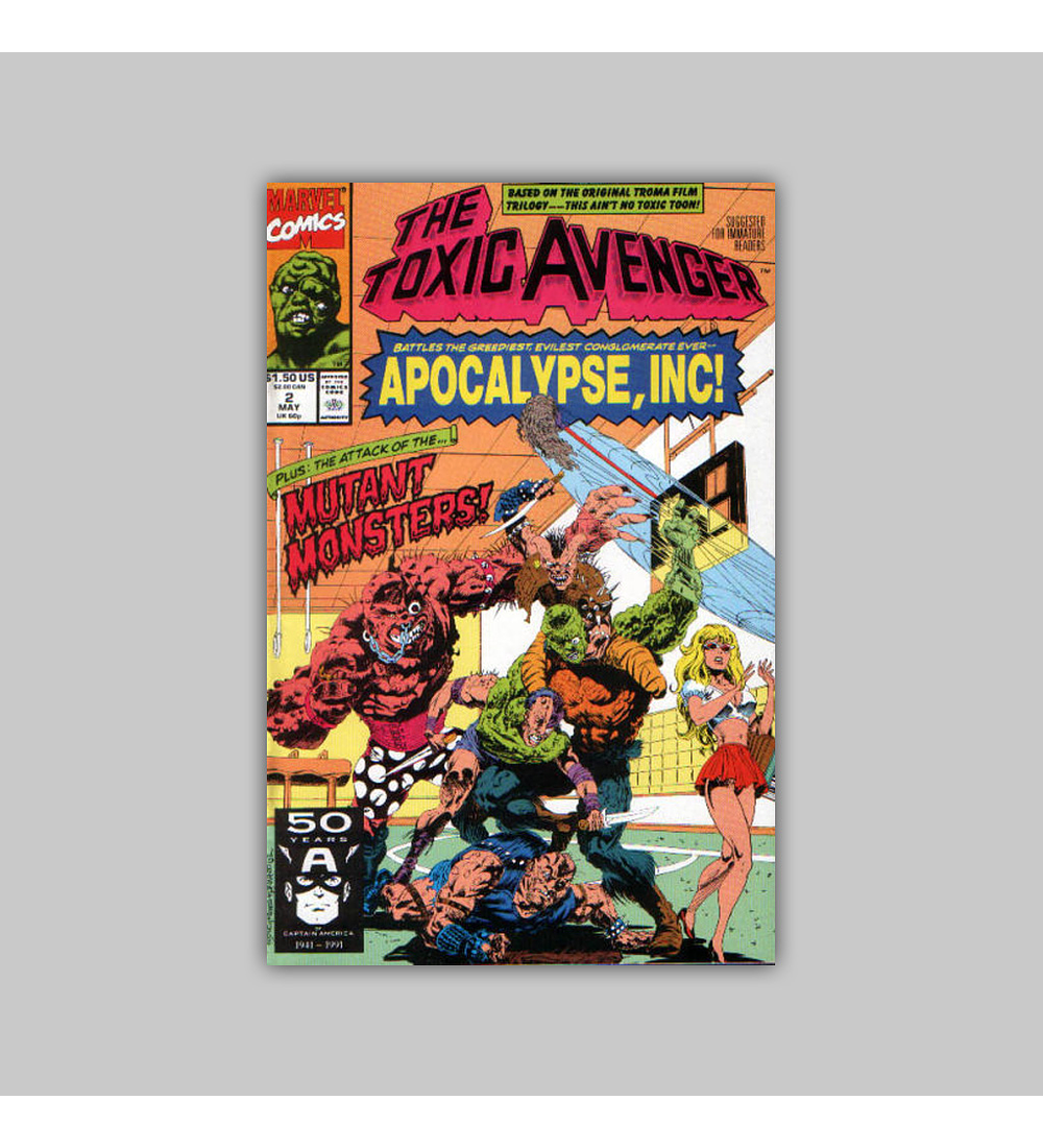 The Toxic Avenger (complete limited series) 1991