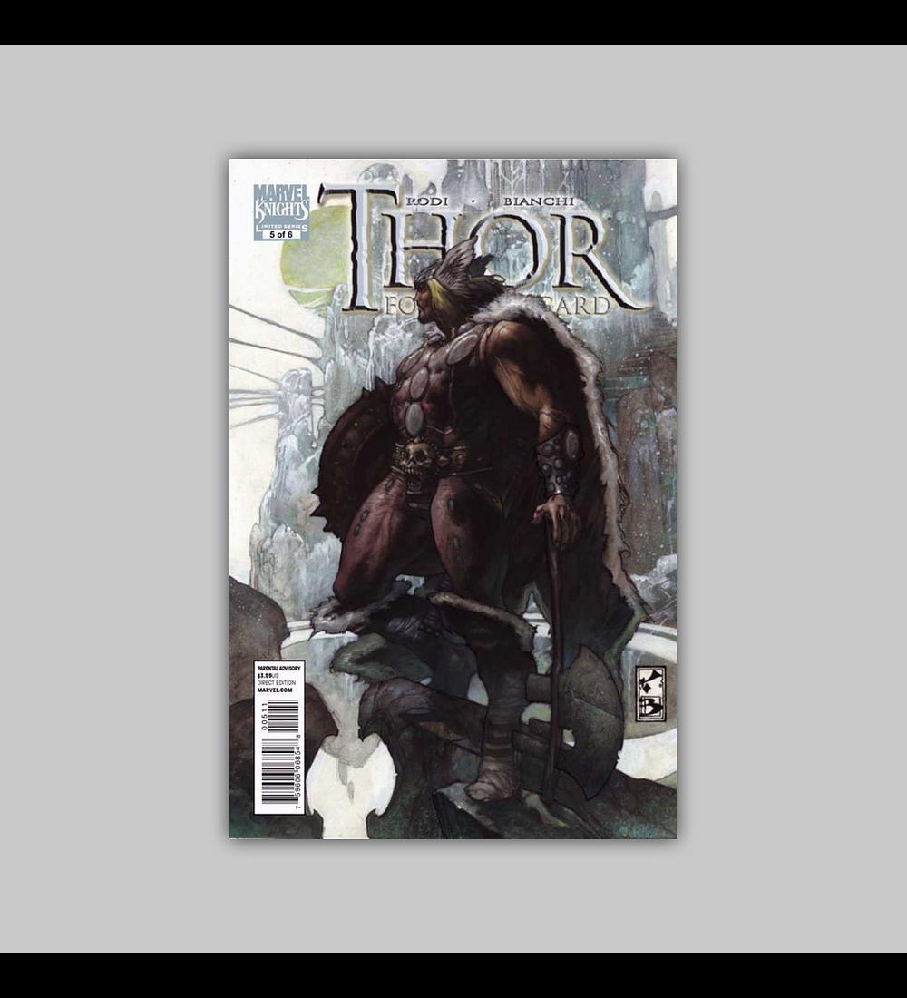 Thor for Asgard 5 2011
