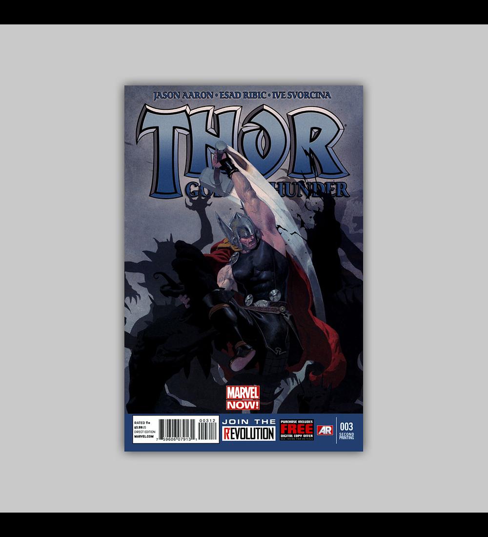 Thor: God of Thunder 3 2nd printing 2013